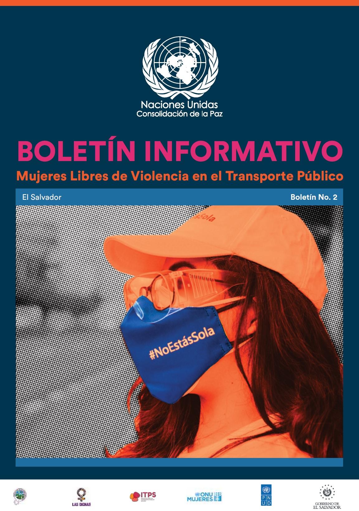 BOLETÍN INFORMATIVO No.2: Mujeres libres de violencia en el transporte público