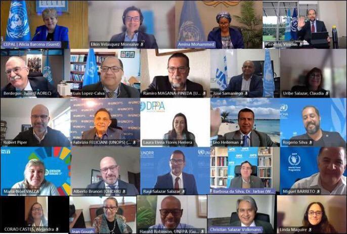 La nueva plataforma de colaboración regional reúne a las entidades de las Naciones Unidas para apoyar a América Latina y el Caribe para que los países respondan y se recuperen mejor del COVID-19
