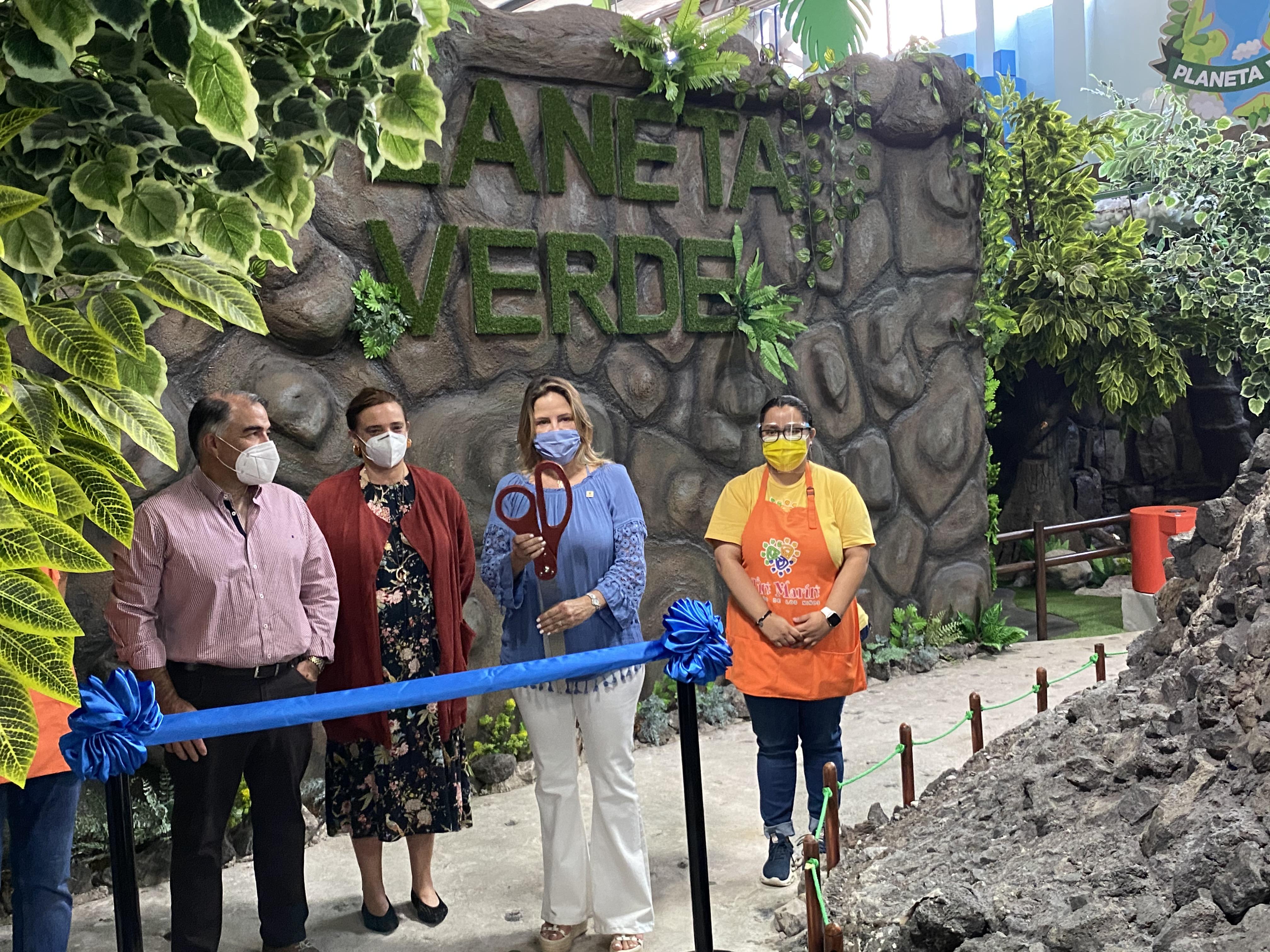 """Tin Marín inaugura la nueva exhibición """"Planeta Verde"""" con apoyo de UNICEF"""