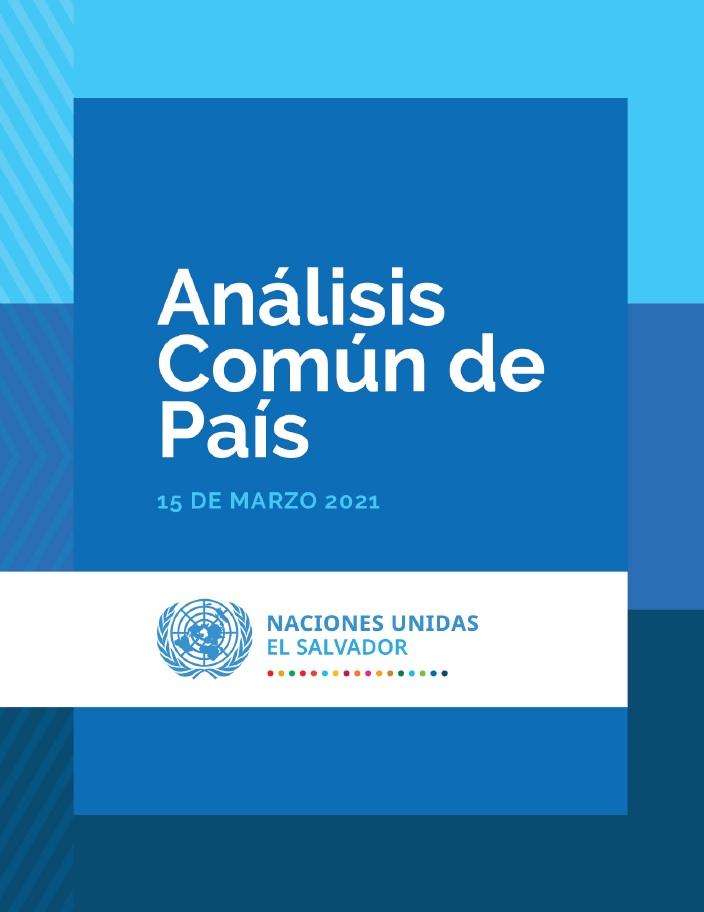 Análisis Común de País 2021 (CCA 2021)