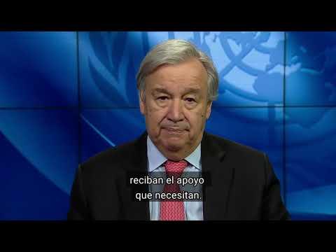MENSAJE DEL SECRETARIO GENERAL DE LAS NACIONES UNIDAS EN EL DÍA MUNDIAL DEL REFUGIADO