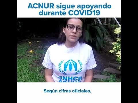 ¿Qué hace ACNUR El Salvador durante la emergencia COVID-19?