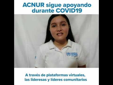 ACNUR El Salvador sigue apoyando al país durante la emergencia COVID-19